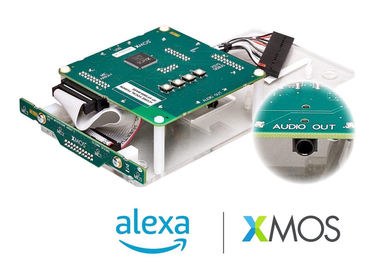 Newsroom Xmos Audio Circuit With Voice Over Capability