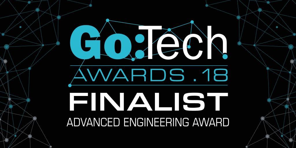 XMOS is one of the finalists at the Go:Tech 2018 Awards