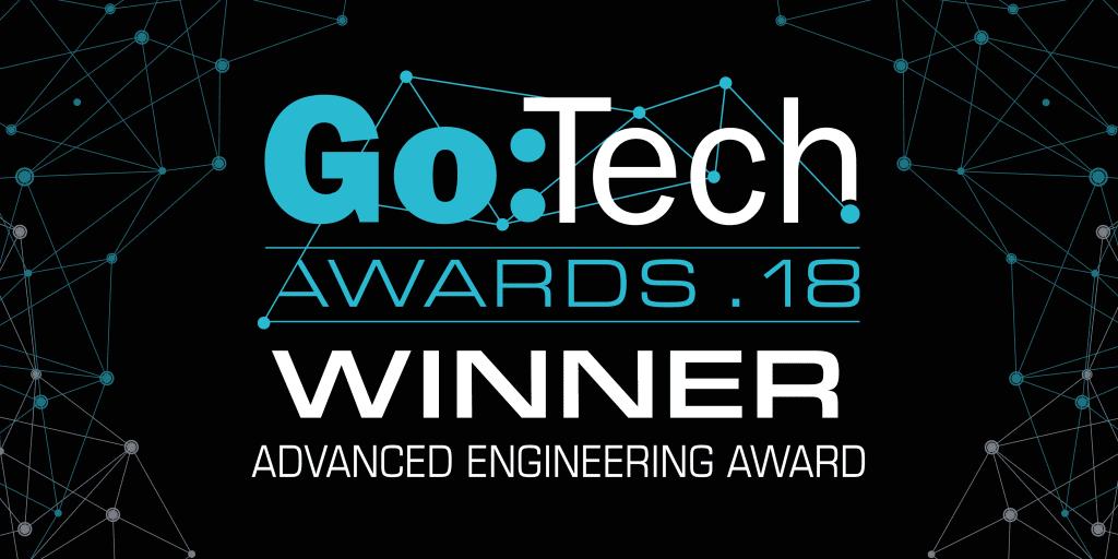 XMOS wins at the Go:Tech 2018 Awards