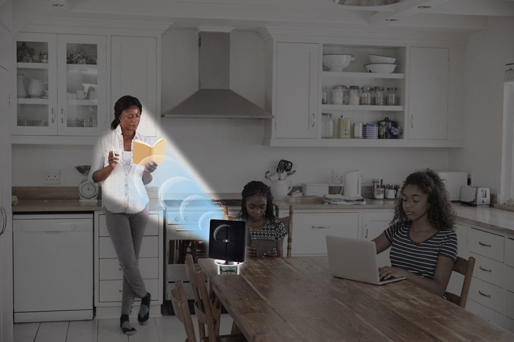 The world's first personal assistant that beams sound only to you