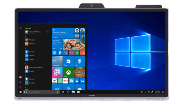Introducing Windows collaboration display by Sharp