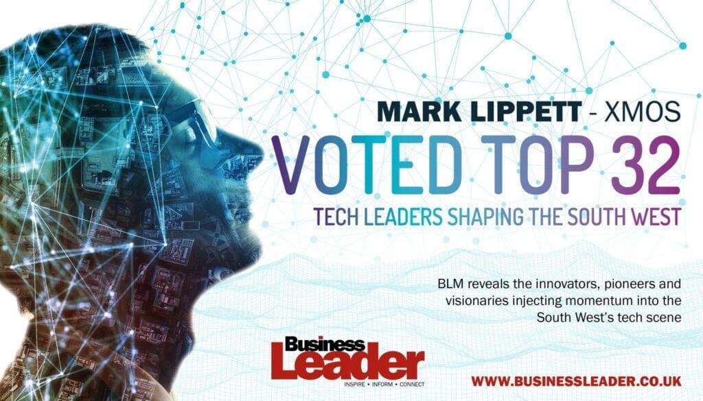 Mark Lippett voted top tech leader